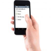 Smartphone mit movisensXS